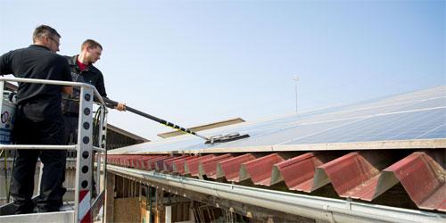 Kärcher iSolar bringt Solarmodule wieder auf volle Leistung