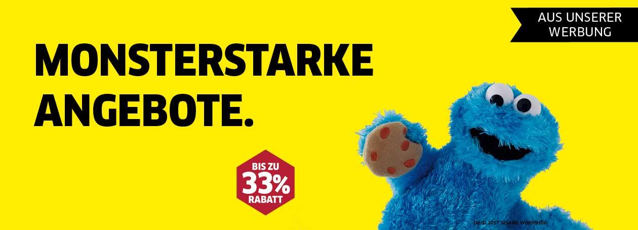Aus unserer Werbung – Monsterstarke Angebote