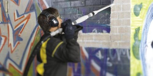 Graffiti entfernung