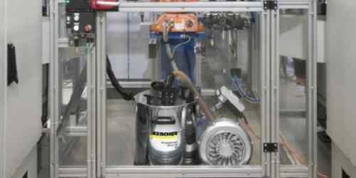 Kärcher Industriesauger - Kompakte Bauform