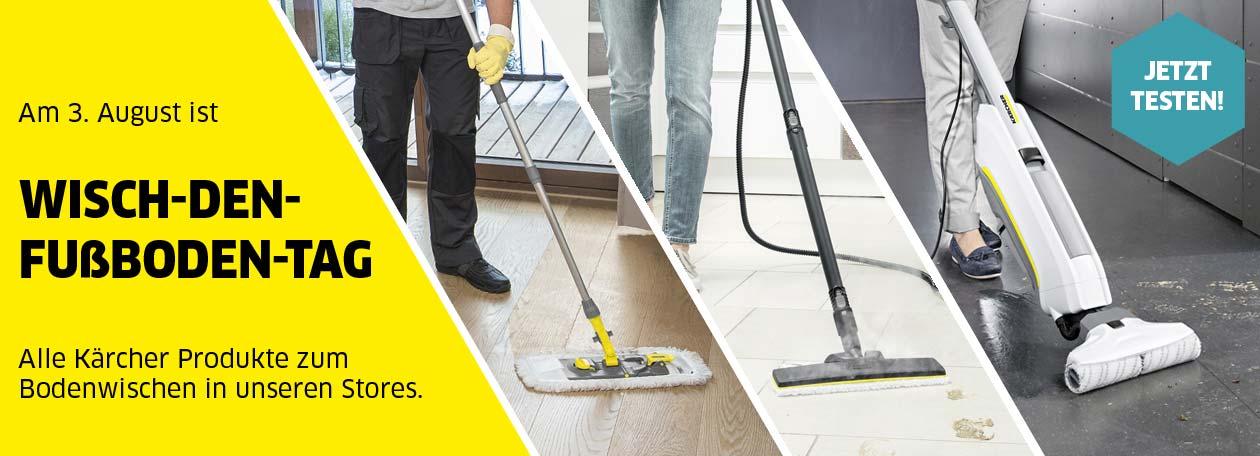 Richtig Wischen: Wisch-den-Fußboden-Tag
