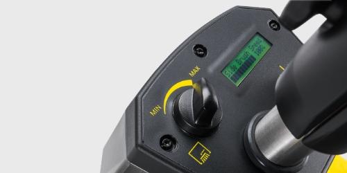 Kärcher Kehrmaschine KM 85/50 - Einfaches Bedienkonzept
