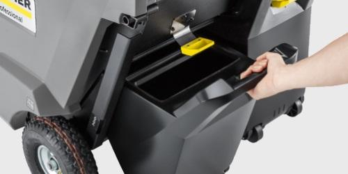 Kärcher Kehrmaschine KM 85/50 - Behaelterkonzept
